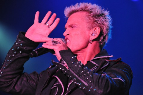 Billy Idol Konzert Burg Clam Juli 2012